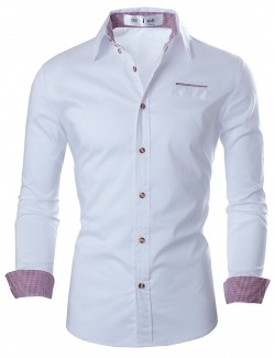 Men's Slim Dress Shirts