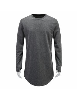 Men's Long Sleeve Thumb Hole T-shirt