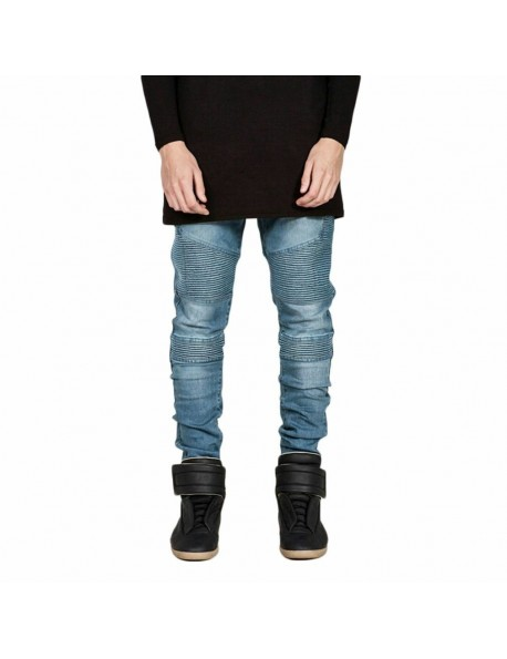 Fashion Slim Biker Stretch Jean